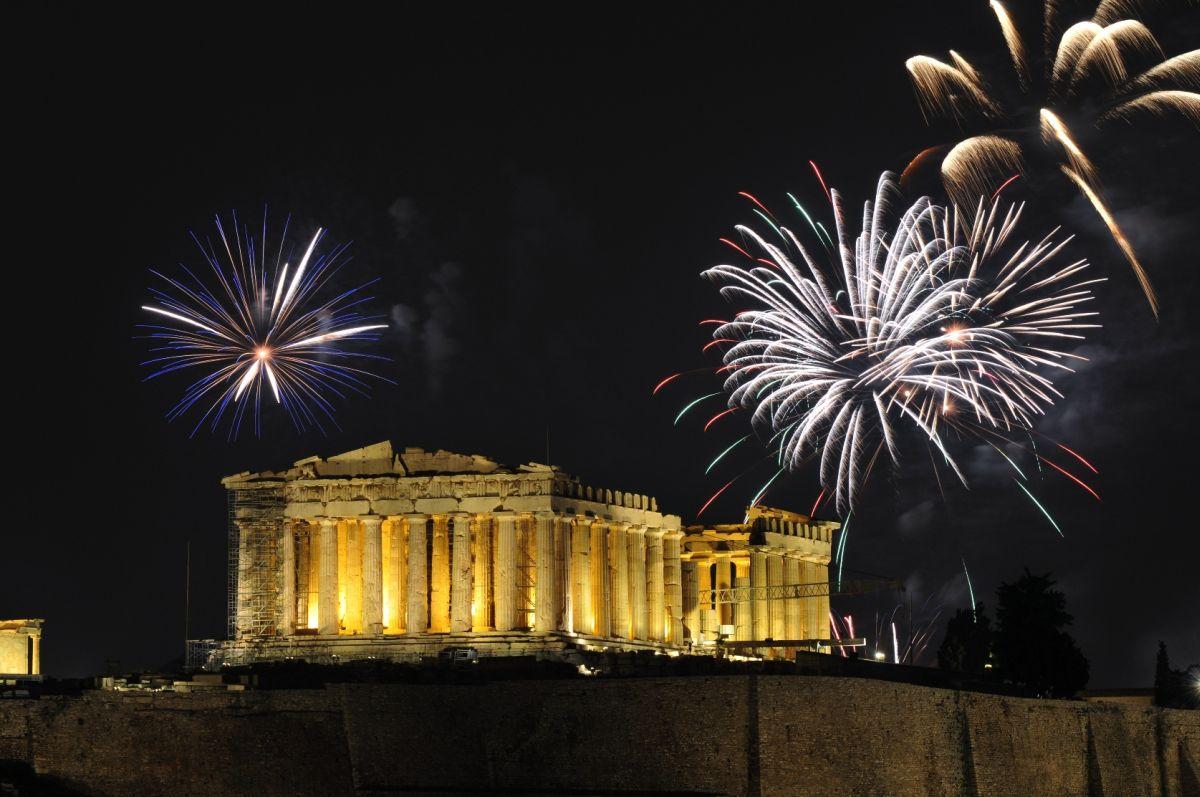 Πρωτοχρονιά στην Αθήνα  5 μέρες